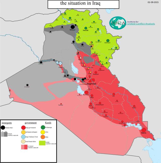 IS in Irak september 2015