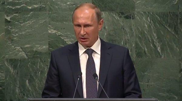 Poetin voor VN 28-09-2015