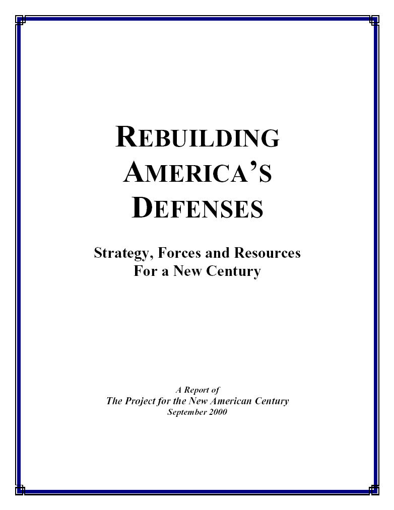 Rebuilding America's Defenses