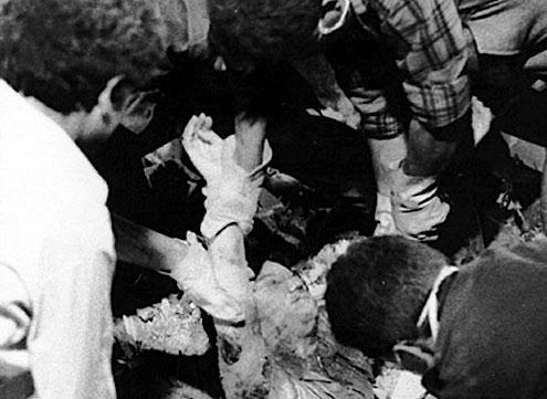 1 van de 85 slachtoffers van de bomaanslag in Bologna