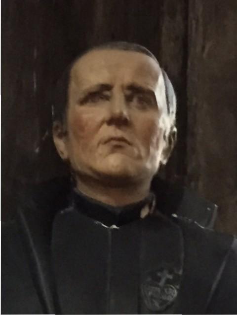 Broeder Isodoor gezicht